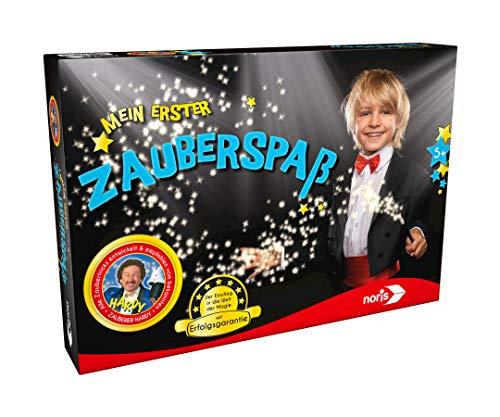 Noris 606321163 Mein erster Zauberspaß, der Einstiegs-Zauberkasten mit Erfolgsgarantie, für Zauberer ab 5 Jahren