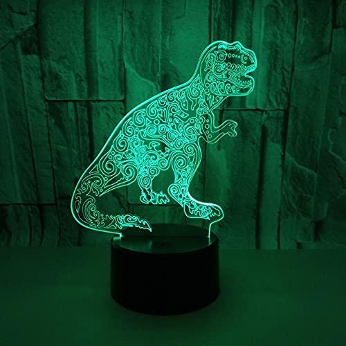 Lámpara Ilusión 3D LED Luz Nocturna Niños, Alimentada Por USB Con Control Remoto Inteligente Táctil Regulable 7/16 Colores Navidad Año Nuevo Regalos Cumpleaños Decoración Hogar,Black2,Touch + Remote