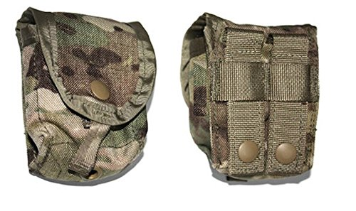 MOLLE Hand Grenade Pouch, MultiCam / OCP, NSN 8465-01-580-0697, USGI Issue