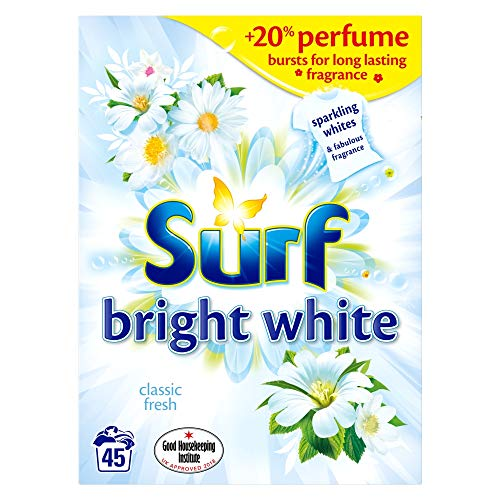 Surf Bright White Laundry Powder 45 Washes, 2.925kg