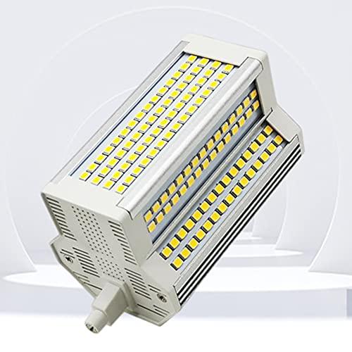 LED R7S 118 mm Delgado 50W Bombilla de Ancho 55 mm Doble terminación J118 5400LM Regulable Blanco cálido 3000K 500W Reemplazo de...