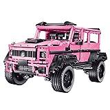 Technic 4X4 Juego De Construcción De Camión Todoterreno para Mercedes AMG G63 Brabus G800, 2687 Piezas De Bloques Compatible con Lego, El Modelo De Construcción No Es Creado por Lego