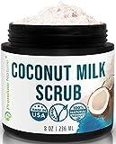 Coconut Milk Exfoliating Body Scrub - Natural Coconut Oil Skin...