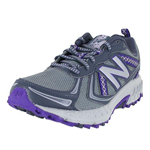 New Balance Cushioning 410v5 Wt410v5 - Zapatillas de Running con amortiguación para Mujer, Color Negro, Color Gris, Talla 35 EU Weit