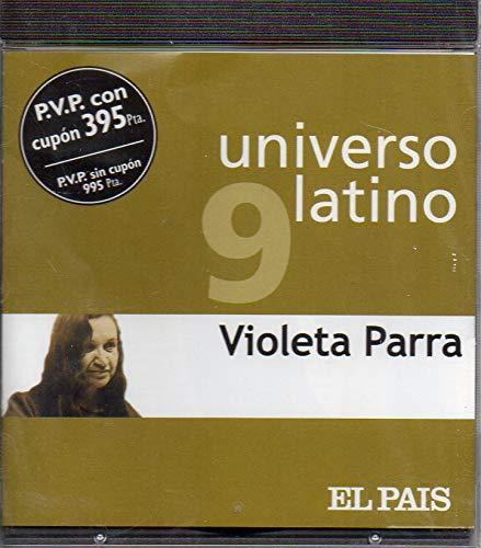 UNIVERSO LATINO 9 - VIOLETA PARRA (CD)