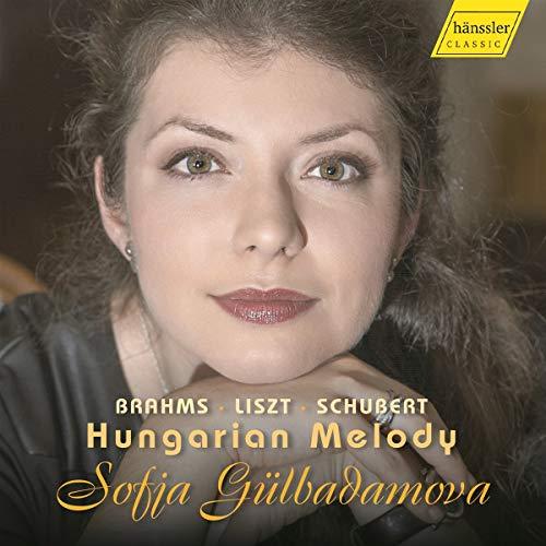 Brahms, Liszt, Schubert : Mélodies hongroises pour piano. Gülbadamova.