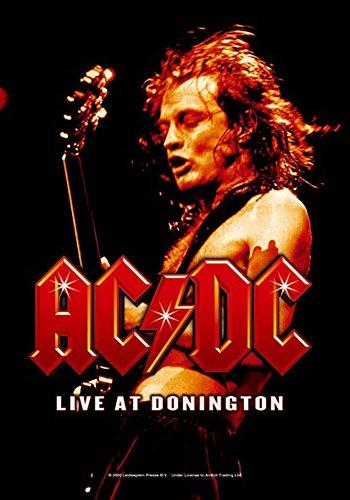 empireposter AC/DC - Live at Donington - Posterflaggen Fahne - Größe 75x110 cm