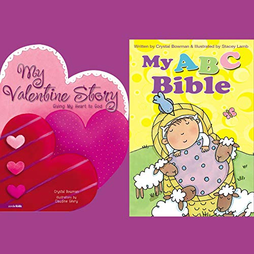 My ABC Bible and My Valentine Story cover art