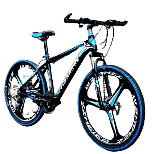 Fantastic Prices! AHAVINTAGE.COM 24 Inch/26 Inch High Carbon Steel Hard Tail Mountain Bike, Hybrid B...