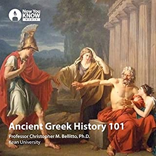 Ancient Greek History 101 audiobook cover art