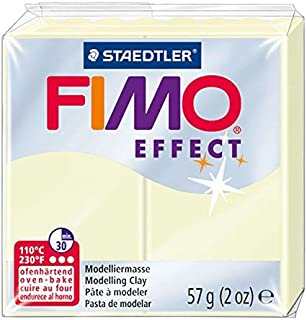 Staedtler FIMO Effects Polymer Clay - -Oven Bake Clay for Jewelry, Sculpting, Luminescent 8020-04
