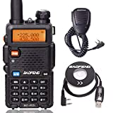 BaoFeng BF-R3 Tri-Band 136-174/220-260/400-520 MHz Amateur Portable Hamster CB Radio Comunicador Transmitter Two Way Radio with USB Programming Cable and Speaker