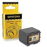 PATONA Bateria BP-820 Compatible con Canon HF-G30 XA20 XA25 LEGRIA HF M300 M400 S1400