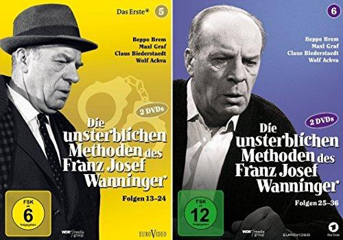 Die unsterblichen Methoden des Franz Josef Wanninger 5 + 6 im Set - Folge 13 - 36 - Deutsche Originalware [4 DVDs]