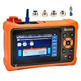 D YEDEMC New Arrival Mini-Pro SM OTDR 1310/1550nm 26/24dB 4.3 inches Touch Screen Test Rang 5m-100Km Optical Network Tester Built in OPM/OLS / RJ45 / VFL UPC Connector With FC/UPC-FC/APC-SX
