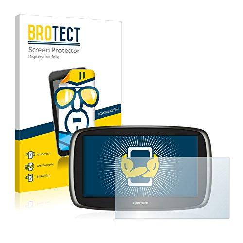 BROTECT Protector Pantalla Compatible con Tomtom Start 60 2014 Protector Transparente (2 Unidades) Anti-Huellas