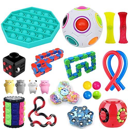 Zhangpu 22pcs Kit de Juguetes Sensoriales, Juguetes sensoria