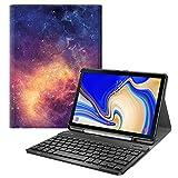 Fintie Funda con Teclado Español Ñ para Samsung Galaxy Tab S4 10.5' (SM-T830/T835/T837) - Carcasa...