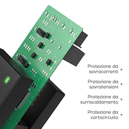 Lavolta 65W 45W Caricatore - 7.4 x 5.0 mm - Alimentatore per HP 630 Elitebook Probook G1 G2 430-G2 450-G1 450-G2 455 470 630 635 640-G1 650 650 840 2560p 4540s 6730s 8470p HP G61 G62 CQ57 CQ58 CQ60