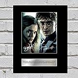 Hermione Granger/ Harry Potter Foto mit Autogramm von Emma