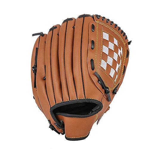 野球 グローブ DCTONG 軟式 一般用 オールラウド 内野手 右投げ キャッチボール 初心者 衝撃吸収パッド 内蔵 少年 11.5インチ ブラウン