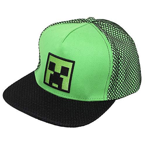 Minecraft CAP SNAPBACK CREEPER LOGO NEU