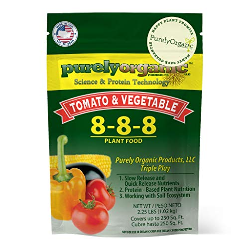 Purely Organic Products Tomato & Vegetable Plant Food 8-8-8,...