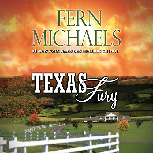 Texas Fury audiobook cover art
