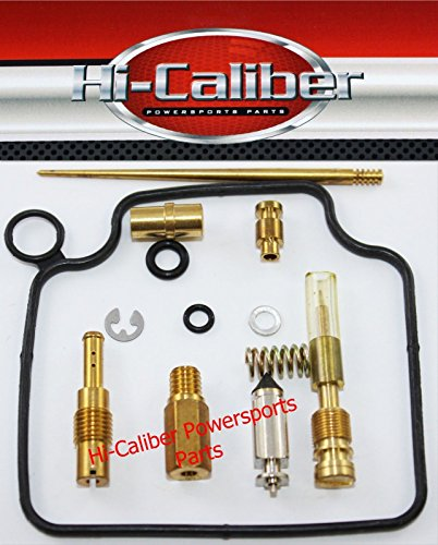Hi-Caliber Powersports Parts Carburetor Carb Rebuild Kit for the 1999-04 Honda TRX 400EX Sportrax
