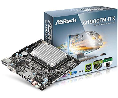 Asrock Q1900TM-ITX Mainboard Sockel J1900 (mini ITX, Intel, HDMI, LVDS, 3x USB 3.0, 2x SATA II)