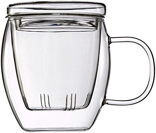 Feelino One and Go Grande 400ml Vaso de té con Filtro y...