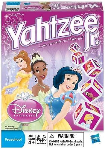 venta al por mayor barato Yahtzee Yahtzee Yahtzee Jr. Disney Princess Edition  seguro de calidad
