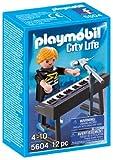 PLAYMOBIL - City Life Jugador del Synth Pop Stars Playsets de Figuras de jugete (5604)