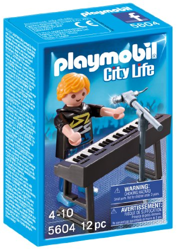 Playmobil 5604 - Sammelfigur - Pop Stars Keyboarder