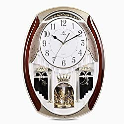 MGE UPS Systems Wall Clock,Wall Clocks Rhythm Magic Motion Music Clock