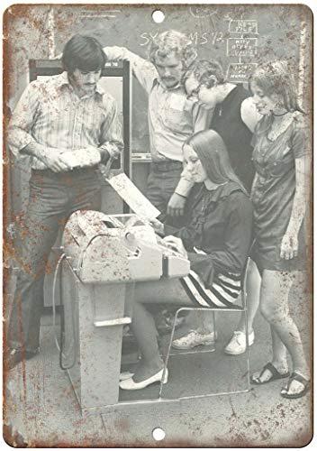 niet Computer Technologie Word Processor Tin Metalen Teken Plaque Vintage Retro IJzeren Muur Waarschuwing Poster Decor Voor Bar Cafe Store Home Garage Office Hotel