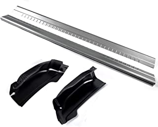 Outer Rocker Panels With Cab Corners Protector Replacement Pair Fit For 1999-2007 Chevy Silverado GMC Sierra 4 Door Extended Cab
