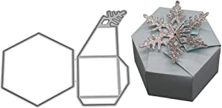 Fogun 3D Boite De Cadeau Matrices De Découpe, Metal Coupe Dies, BRICOLAGE Scrapbooking Cutting Dies DIY Carte Cadeau Pour ...