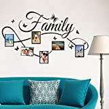 Rmoon Wall Sticker Family Adesivo Murale Cornice Per Foto Adesivi Murali Removibile Decalcomanie Murali