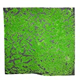 Timagebreze 1Mx1M Pianta Artificiale Quadrata Prato Simulazione Casa Sfondo Pianta Muschio Tappeto Erboso Verde Zolla Verde Decorazione della Finestra Interna