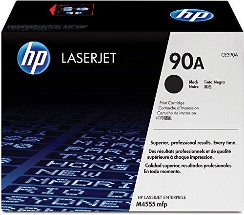 HP 90A (CE390A) Schwarz Original Toner für HP Laserjet Enterprise M601, M602, M603, M4555