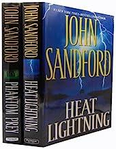 John Sandford - 2 Books Collection (Phantom Prey (Lucas Davenport Mysteries), Heat Lightning (Virgil Flowers))