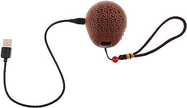 Prettyia Mini Chinese Buddhist Buddha Pray Music Machine 38 Songs Incantaion - Wood, as described