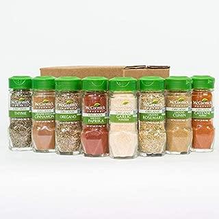 McCormick Gourmet Spice Rack Refill, 8 bottle, 10.27 Ounce