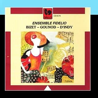Ensemble Fidelio: Gounod, Petite Symphonie - D'Indy: Chanson et Danses - Bizet: Jeux d'enfants, Suite de Carmen