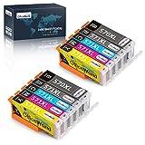 OfficeWorld PGI 570XL CLI 571XL Remplacer pour Cartouche Canon 570 571 Compatible...