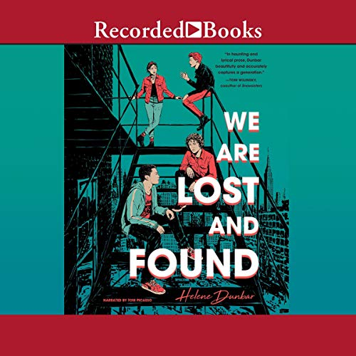We Are Lost and Found audiobook cover art