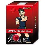TEKXYZ Pelota De Reflejos De Boxeo Contendiente RN Boxing Reflex Ball Contender BR