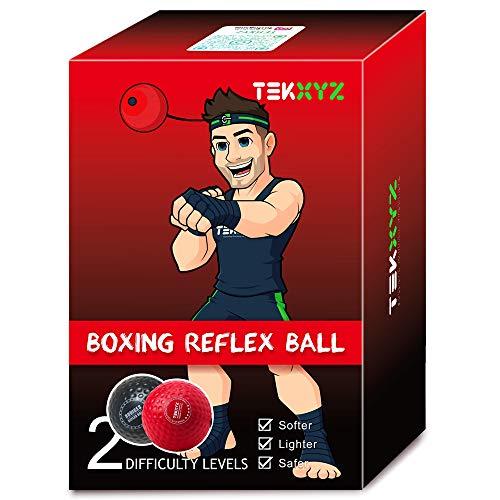 TEKXYZ Pelota De Reflejos De Boxeo Contendiente RN Boxing Reflex Ball Contender BR ⭐