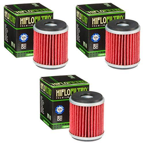 Hiflo 3x Ölfilter WR 125 X 2009-2015 HF141